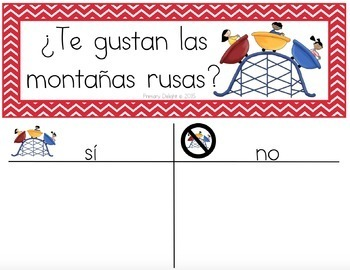 Spanish: Question of the Day for Beginning Readers - Summer Version