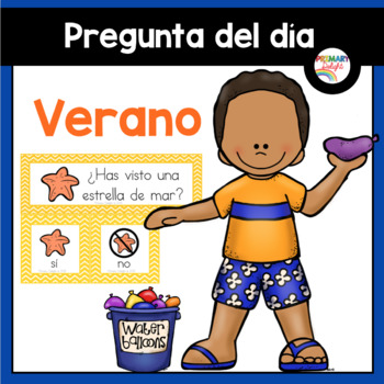 Spanish: Question of the Day for Beginning Readers - Summe