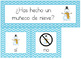 Spanish: Question of the Day for Beginning Readers - Winte