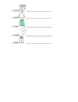 Spanish - Quiz - Clothes