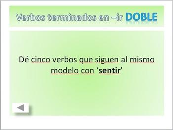 Spanish Quiz Show: Conjugating Verbs