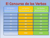 Spanish Quiz Show: Conjugating Verbs