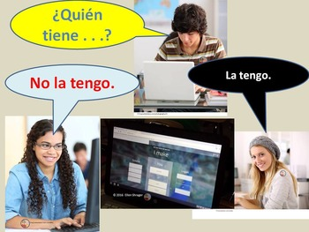 Spanish Quizlet Live Game Teamwork in Target Language Lesson