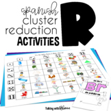 Spanish R Cluster Reduction Activities for Speech Therapy