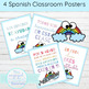 Spanish Positivity and Acceptance Classroom Posters