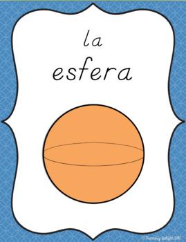 Spanish Shape Posters (Las formas)