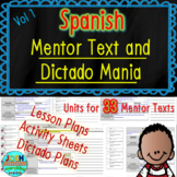 Spanish Read Aloud Lesson Plan, Activities, and Dictado Yearlong Bundle