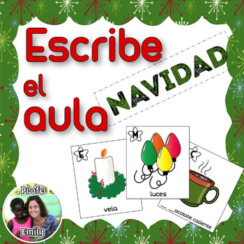 Spanish Read / Write the Room: Christmas