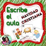 Spanish Read / Write the Room: Religious Christmas