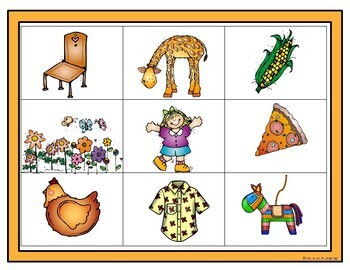 Spanish Read and Cover Game Syllables with 'a' and 'i'