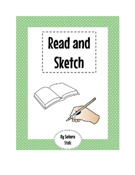 Spanish Read and Sketch: C3 Read and Draw for Comprehension