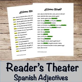 Spanish Reader's Theater- ¿Cómo Eres?