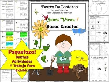 Spanish Reader's Theater Script: Reading-Science, Living &