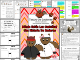Spanish Reader's Theater Script: Squirrels In Winter, Reading/Writing Activities
