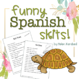 Funny Spanish Skits with Tener Expressions