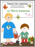 Spanish Reader's Theater Script: Earth Day, Organic Garden, Pollination, Compost