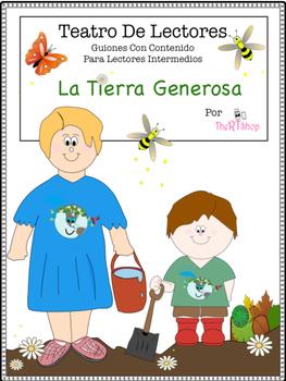 Spanish Reader's Theater Script: Earth Day, Organic Garden