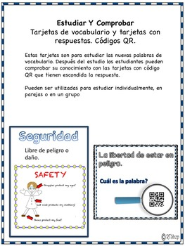 Spanish Reader's Theater Script, Lab Safety Rules, Scientific Method Booklet