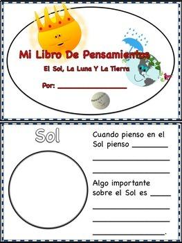 Spanish Readers' Theater Script: Reading-Science, Sun, Moon & Earth, Full Pack