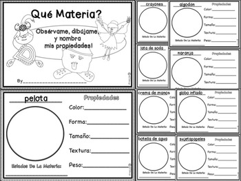 Spanish Reader's Theater Script: Reading-Science Integration, States Of Matter