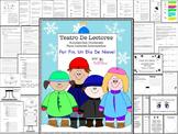 Spanish Reader's Theater Script: Winter Theme, Reading Activities