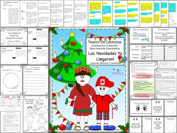 Spanish Reader's Theater: Christmas' Traditions, Holidays, Winter, Full Pack