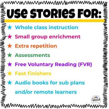 Spanish Reading Activities: Mega Bundle 2