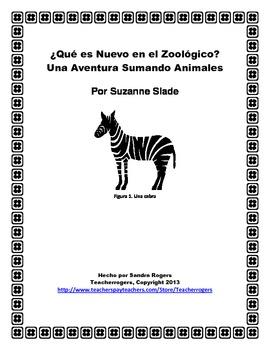 ¿Qué es Nuevo en el Zoológico? Kindergarten Book Study