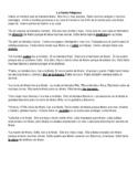 Spanish Reading Activity- Murder Mystery