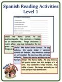 Spanish Reading Activity (Level 1)