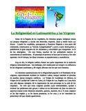 Spanish Reading Activity (intermediate): Religion in Latin America