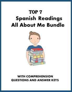 Spanish Easy Readings Bundle: All about Me - 7 Lecturas Fáciles (Spanish 1)