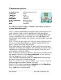 Spanish Subjunctive Reading + Worksheet - Apartment Hunt - Lectura en subjuntivo