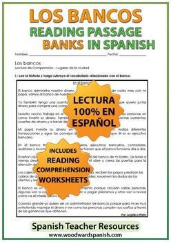 Spanish Reading - Banks - Los Bancos
