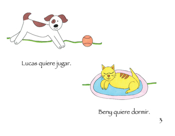 "Spanish Reading ""Beny y Lucas"" vol 1"