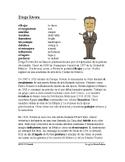 Diego Rivera Biografía - Spanish Biography + Worksheet