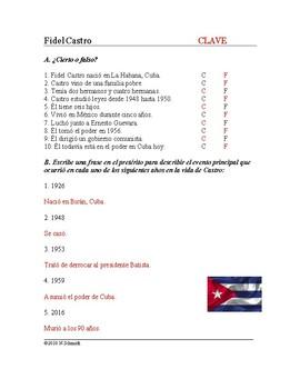 Fidel Castro Biografía - Spanish Biography on Cuban Leader