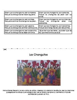 """Spanish Reading Booklet / Lectura en Espanol """" Los Changuitos"""""""
