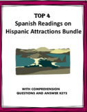 Spanish Reading Bundle: Top 5 Attractions of Hispanic World at 35% off!