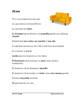 Spanish Easy Readings Bundle: All about Me - Lecturas Fáciles Todo Sobre Mi