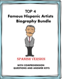 Artistas Hispanos Biografías - Artists Reading Bundle (Kah