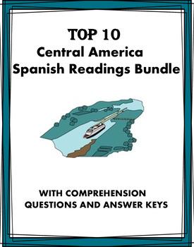 Spanish Reading Bundle: 10 Lecturas de Centroamérica at 40% off!