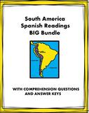Spanish South America Reading BIG Bundle: 6 Biografías y 6 Lecturas @45% off!