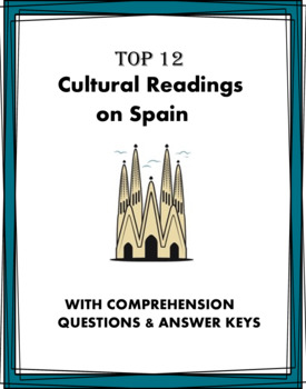 Spanish Reading Bundle on Spain: 5 Biografías y 5 Lecturas Culturales