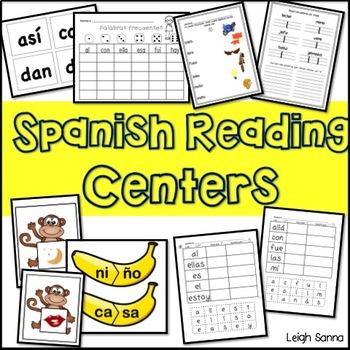 Beginner Spanish Reading Centers BUNDLE