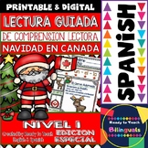 Spanish Reading - Christmas in Canada - Guided Reading Pas