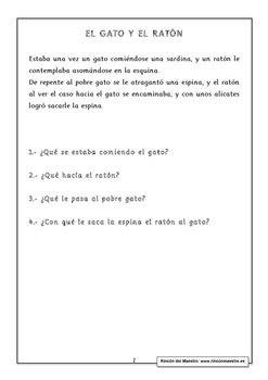 Spanish Reading Comprehension 1