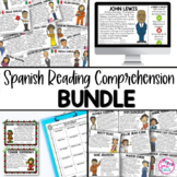 Spanish Reading Comprehension Activities BUNDLE Gallery Wa