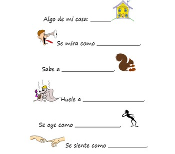 Spanish Reading Comprehension Activities- Dual Language