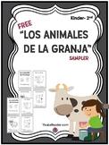 FREEBIE: Farm Animals in Spanish Writing & Coloring Card B
